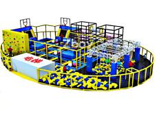 10,000 sqft Commercial Trampoline Park Ninja Climb Gym Turnkey 100% Financing
