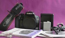 Canon EOS 1000D 10.1MP DSLR Camera (Body Only) Very good 1827A