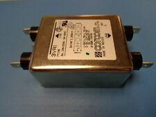 (1) CORCOM 3VR1 EMI RFI POWER LINE FILTER 3A 120V - 250V 250VAC 50/60Hz NEW