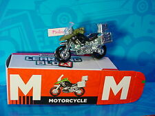 "2016 Matchbox Learning Blox ""M""MOTORCYCLE~BMW R1200 GS☆Green;Military Police☆box"