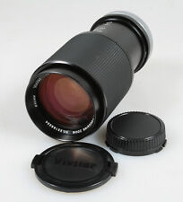 75 - 205MM F 3.8 LENS FOR CANON FD W/FRONT REAR CAPS