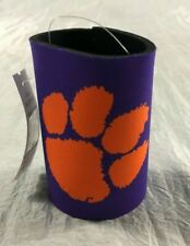 Officially Licensed Clemson Tigers Can Koozies Set of 2