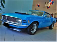 BOSS 429 1970 Mustang GT Ford 12 Auto Car Race Sport 1 Carousel Blue 40 Art 18