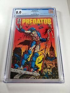 PREDATOR #1 Second Printing CGC 8.0 Dark Horse Comics 1989