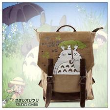 Studio Ghibli My Neighbor Totoro School Shoulder Bag Canvas Backpack Rucksack