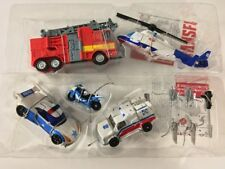 Transformers PROTECTOBOTS EVAC SQUAD & EMERGENCY RESPONSE Lot Set Hasbro Loose