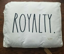 Rae Dunn LARGE Dog Pillow Bed ROYALTY NEW! Removable Cover HTF! Fast Ship!