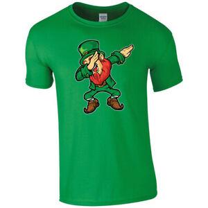 St Patrick's Day Irish Ireland Leprechaun T-shirt T shirt Men Women Unisex 3482