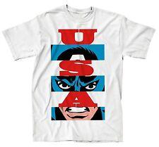 Captain America USA T-Shirt Marvel Avengers Civil War - Men's XXL - New w/Tags!