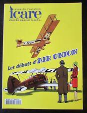 ICARE REVUE AVIATION No 203 de 2007 LES DEBUTS D AIR UNION TRANSPORTS AERIENS