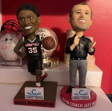 ANGEL MCCOUGHTRY & JEFF WALZ LOUISILLE CARDINALS BOBBLEHEADS