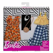 Barbie Fashion 2-Pack Fruit and Gingham Fxj61 *New*