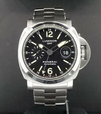 Panerai Luminor GMT Date 44mm PAM00297 S/ Steel Automatic / Bracelet PAM297