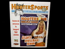 OOP Hooters Air Inaugural 20th Sports Newspaper Magazine Racing Golf Sexy Girls!