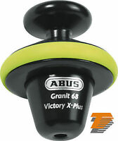 ABUS GRANIT VICTORY 68 THATCHAM CAT3 MOTORBIKE DISK LOCK ROLL 14mm PLUS DLR