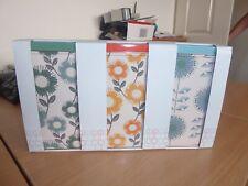 BNWT set of 3 printed storage tins