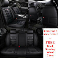 Black PU Leather Car seat cover for Hyundai i30 ix35 Tucson Elantra Santa Fe 451