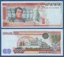 MEXIKO / MEXICO  5000 Pesos 1980  UNC  P.71