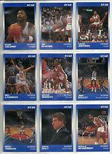 1990 Star Company 11-card Detroit Pistons Glossy Set #/250  Dennis Rodman  +++