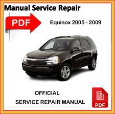 Chevrolet Equinox 2005 06 2007 2008 2009 Factory Service Repair Workshop Manual