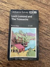Ordnance Survey Tourist Map Of Loch Lomond And The Trossachs