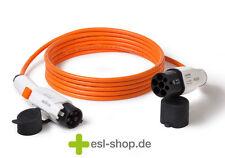 Typ 1 auf Typ 2 Ladekabel f. Elektroauto (Mode3), 20A 4,6kW 1-phasig, 5 m Länge