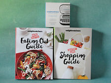 Weight Watchers 2017 SMART POINTS DIet - Main POINTS BOOKS + CALCULATOR + GUIDE