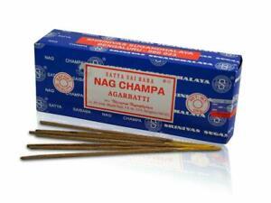 Satya Sia Baba Nag Champa Incense Sticks 250 Gram Box Free Shipping
