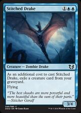4x Draghetto Ricucito - Stitched Drake MTG MAGIC DDQ BvC Blessed vs. Cursed Eng