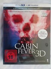 Cabin Fever Trilogy 3D (Blu-ray 3D/Blu-ray 2D)~~Triple Feature!~~NEW & SEALED
