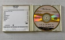 PATTI SMITH Live Tracks 1996 In-House PROMO Only CD Roxy / Cellar Door 1976