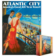 JIGSAW    EG80000396 	 Eurographics Puzzle 1000 Pc - Atlantic City (8x8 box)