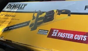 "16""DEWALT 60VMax Lithium-Ion Cordless Flexvolt Brushless Chainsaw (Tool Only)NEW"