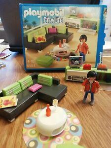 Playmobil City Life Wohnzimmer 5584