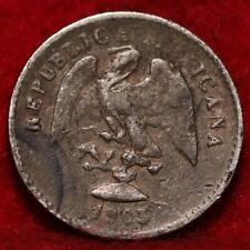 1903 Mexico 5 Centavos Silver Foreign Coin