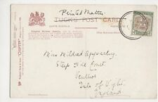 Miss Mildred Apperley, Steep Hill Court, Ventnor Postcard, B153
