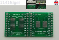 SOP4 - SSOP4 28 Pin  Adapter Converter Board 0.65mm 1.27mm  22981A-27