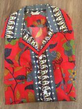1940s 1950s Silk Hawaiian Shirt Made In Japan Possibly Never Worn SEE PHOTOS