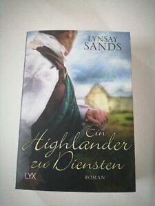 Ein Highlander zu Diensten von Lynsay Sands (2018, Taschenbuch)