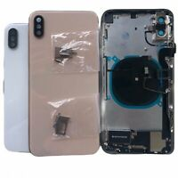 Back Glass Housing Battery Cover Frame Assembly For iPhone X XR XS Max 11 Pro