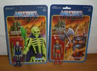 ReAction Super 7 - SCARE GLOW & BATTLE ARMOR HE-MAN - NEU - MOTU Masters of the