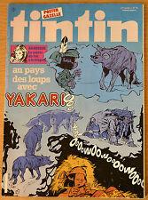 BD Comics Magazine Hebdo Journal Tintin No 29 37e 1982 Yakari au Pays des Loups
