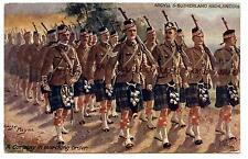 BRITISH-ARMY ARGYLL AND SUTHERLAND HIGHLANDERS.HARRY-PAYNE éCOSSE.éCOSSAIS