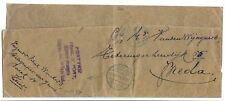 NEDERLAND 1915 WIKKEL (groot deel)  VAN KAMP ZEIST -PORTO VRIJ ST.