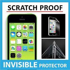 Iphone 5c Frontal Invisible Protector de pantalla Escudo Protector Cover - a prueba de raspaduras