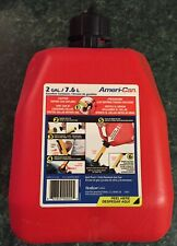 Scepter Ameri Can Gasoline Fuel Jerry Can Jug 2 Gallon Container Spill Proof 8l