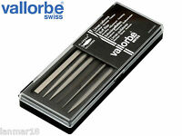 GLARDON ® VALLORBE NEEDLE BUFF FILES 14 cm SET OF 6