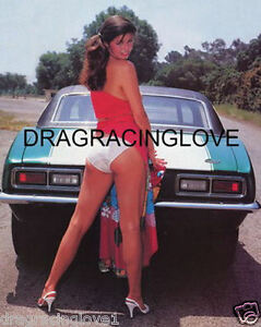"""SUPER ULTRA HOT """"Lingerie"""" Car Babe & Chevy Camaro """"Pin-UP"""" PHOTO! #(36)"""