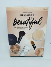 NIB bareMinerals Up Close & Beautiful 30-day Complexion Starter Kit in Medium