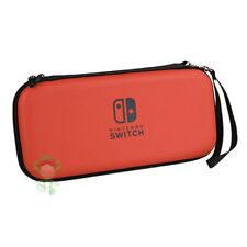 NINTENDO SWITCH HARD CASE TASCHE EVA BAG REISE BOX SCHUTZ HÜLLE ETUI COVER ROT